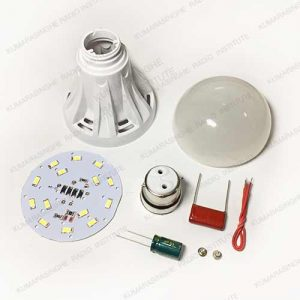 7w plastic led bulb parts accessories sri lanka