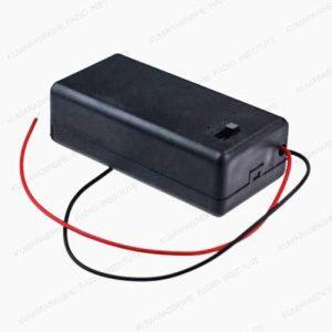 9v battery holder box case Sri Lanka switch 1