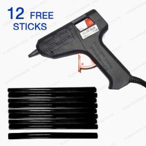 hot Glue gun Sri Lanka small S3 free glue sticks black