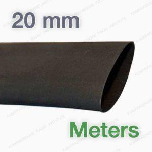 heat shrink sri lanka 20 mm meter electrical wire shrink sleeve tubing rubber wrap polyolefin